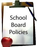 Clip Board School Board Policies